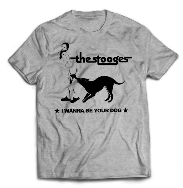 футболка серая Stooges