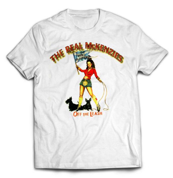 футболка белая Real McKenzies