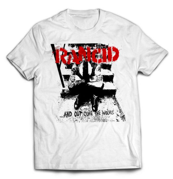 футболка белая Rancid