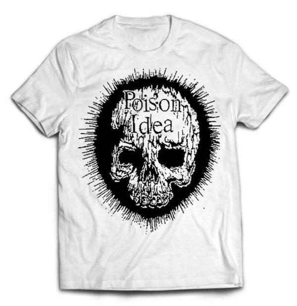 футболка белая Poison Idea
