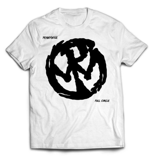 футболка белая Pennywise