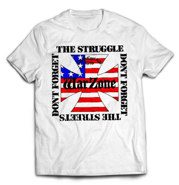 футболка белая Warzone