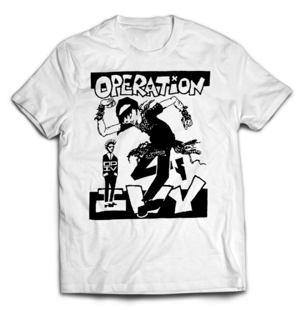 футболка белая Operation Ivy