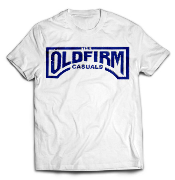 футболка белая Old Firm Casuals