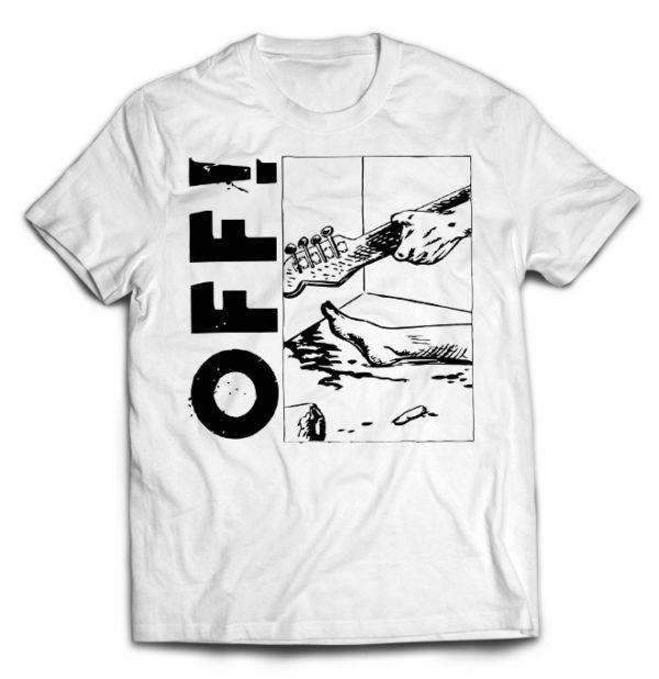 футболка белая Off