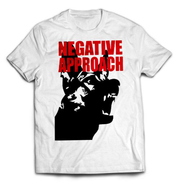 футболка белая Negative Aproach