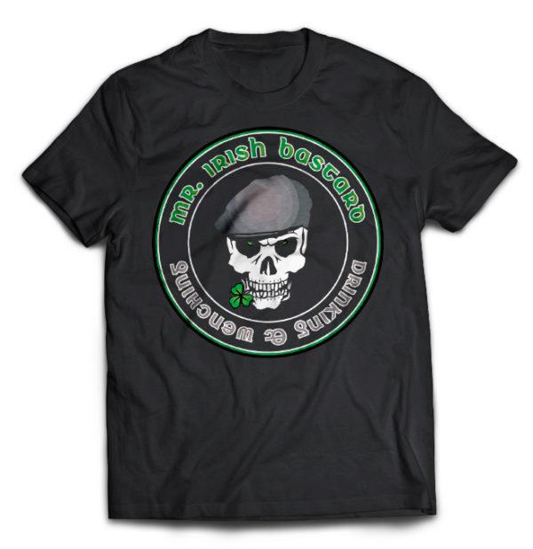 футболка Mr. Irish Bastard