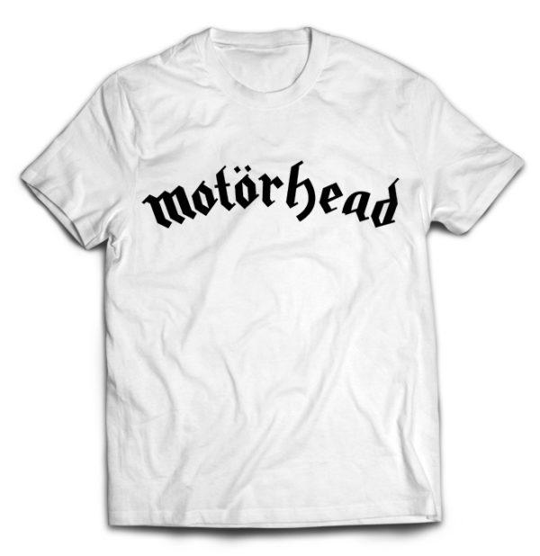 футболка белая Motorhead