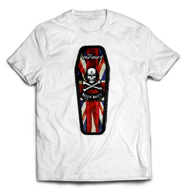футболка белая Vibrators