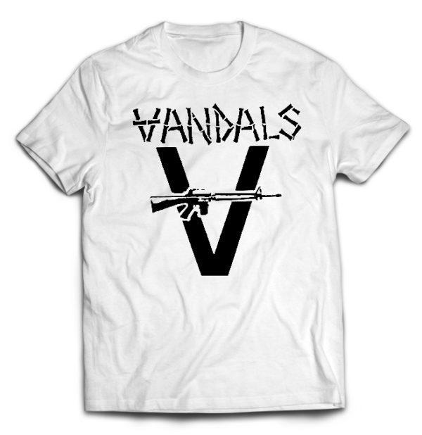 футболка белая Vandals