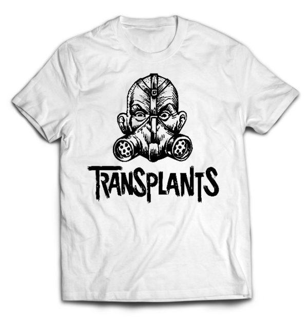 футболка белая Transplants