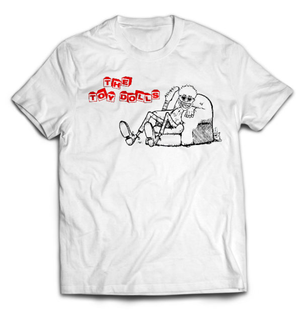 футболка белая Toy Dolls