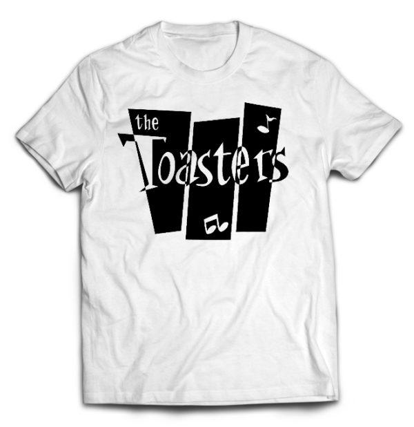 футболка белая Toasters