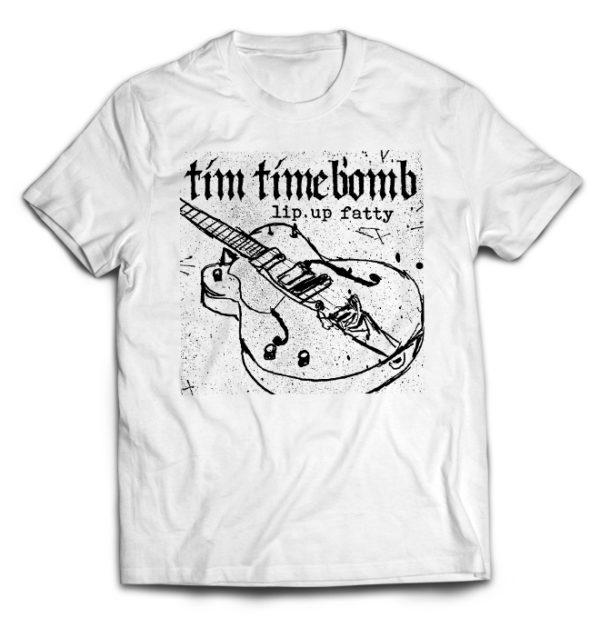 футболка белая Tim Timebomb