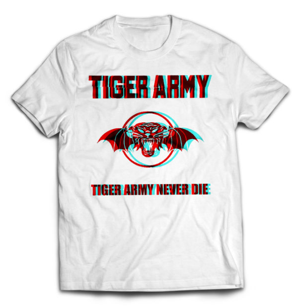 футболка белая Tiger Army