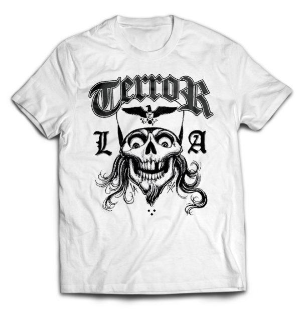 футболка белая Terror