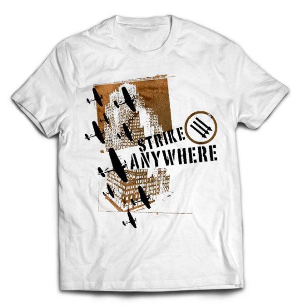 футболка белая Strike Anywhere