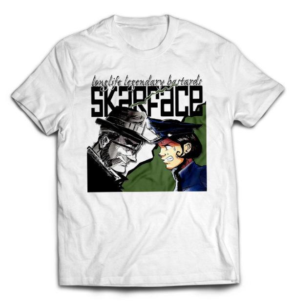 футболка белая Skarface