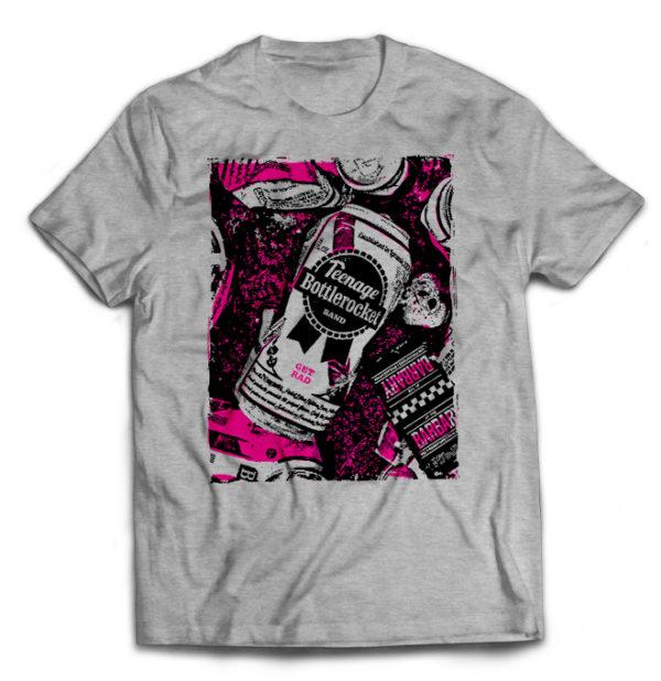 футболка серая Teenage Botlerocket