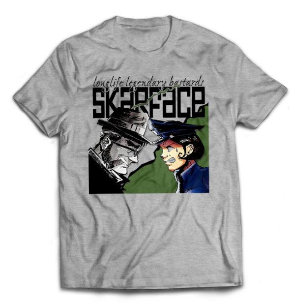 футболка серая Skarface
