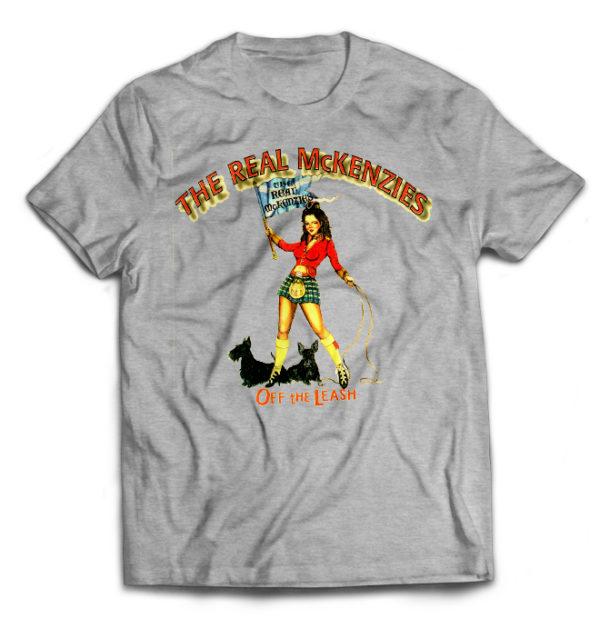 футболка серая Real McKenzies