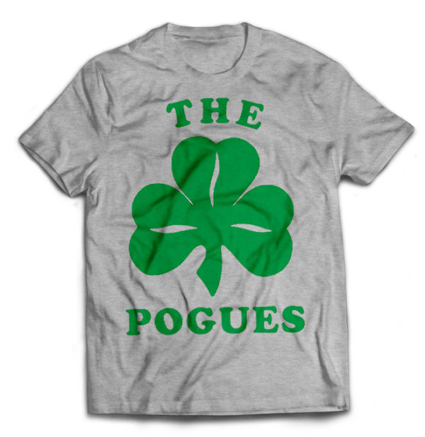 футболка серая Pogues