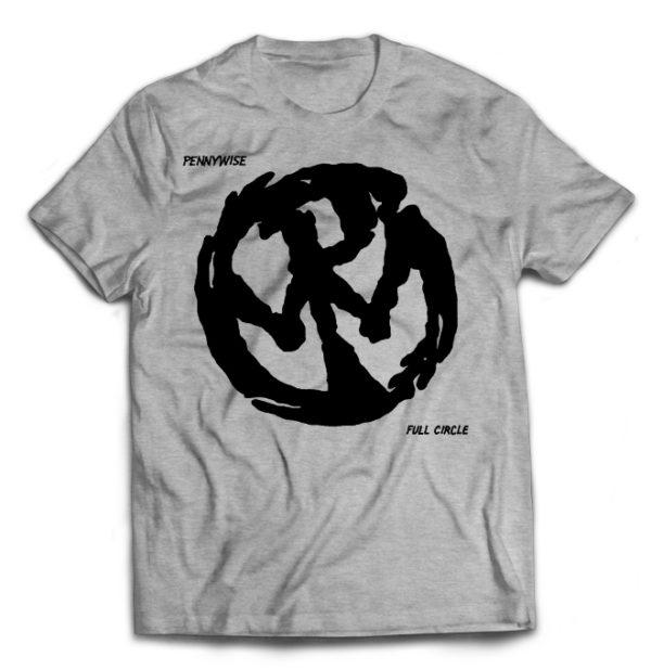 футболка серая Pennywise