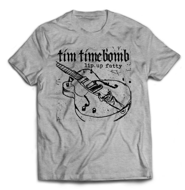 футболка серая Tim Timebomb