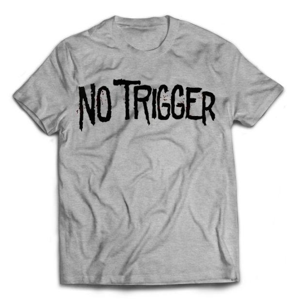 футболка серая No trigger