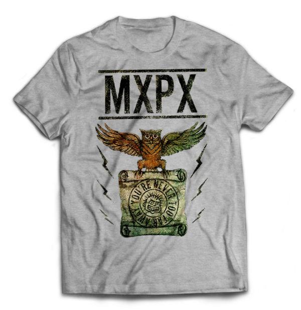 футболка серая MXPX