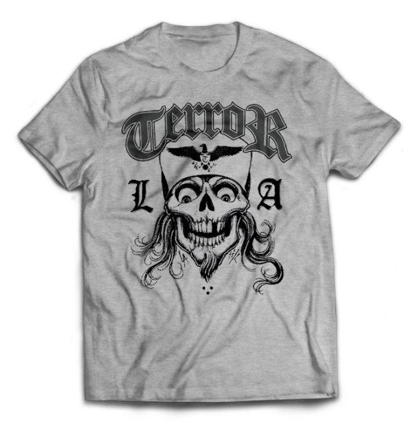 футболка серая Terror