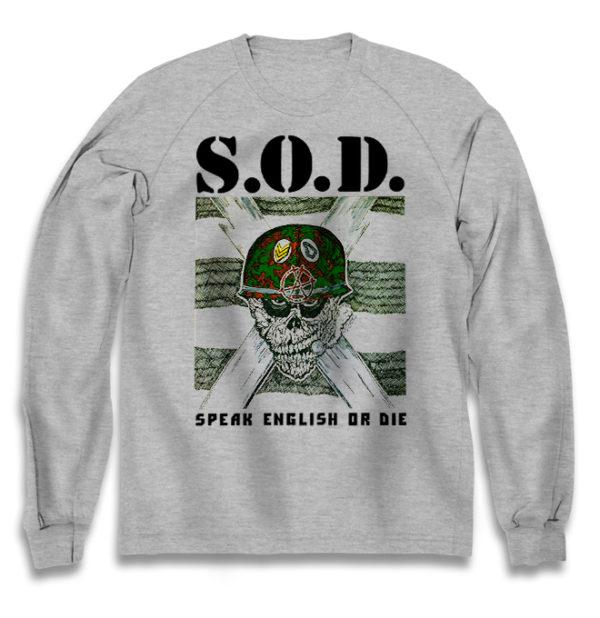 свитшот S.O.D