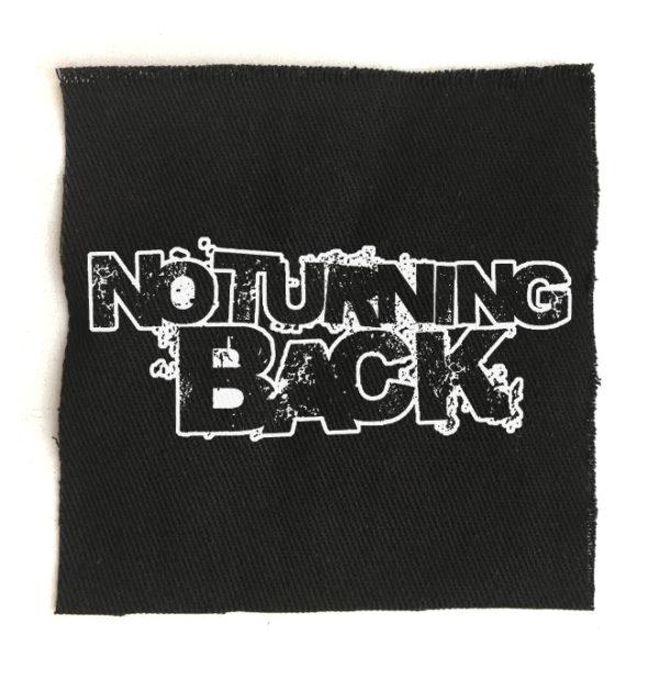 нашивка No turning back