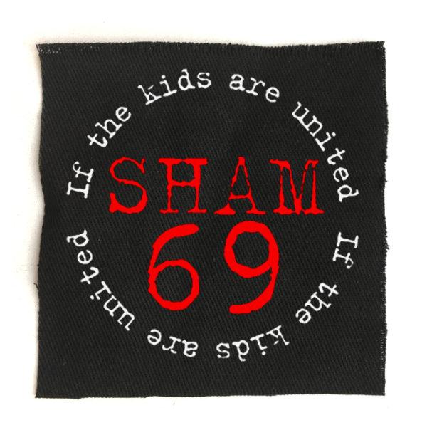 нашивка Sham69