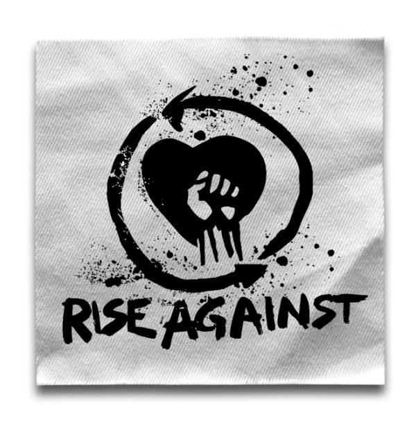 нашивка Rise Against