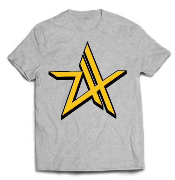 футболка серая Zebrahead