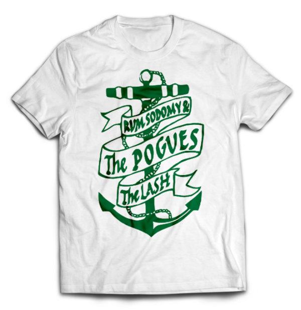 футболка белая Pogues