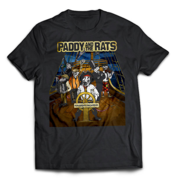 футболка Paddy and the Rats