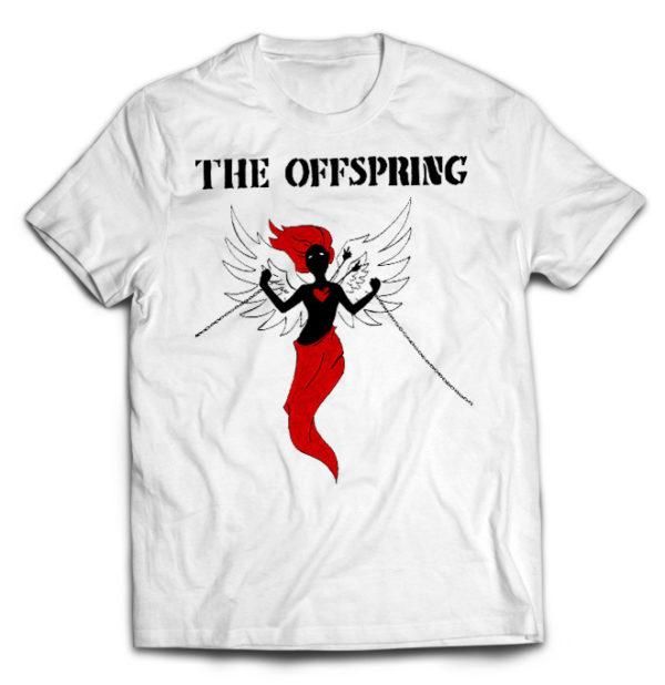 футболка белая Offspring