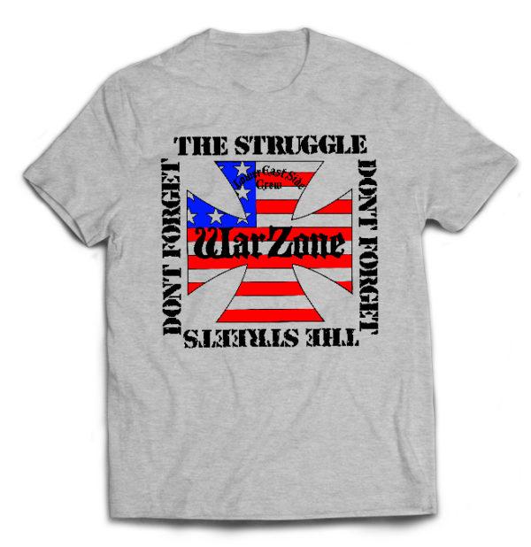 футболка серая Warzone