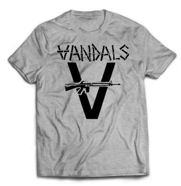 футболка серая Vandals