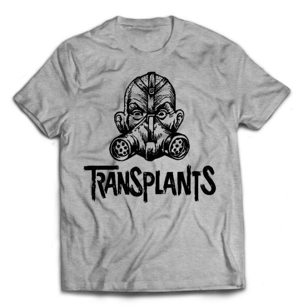 футболка серая Transplants