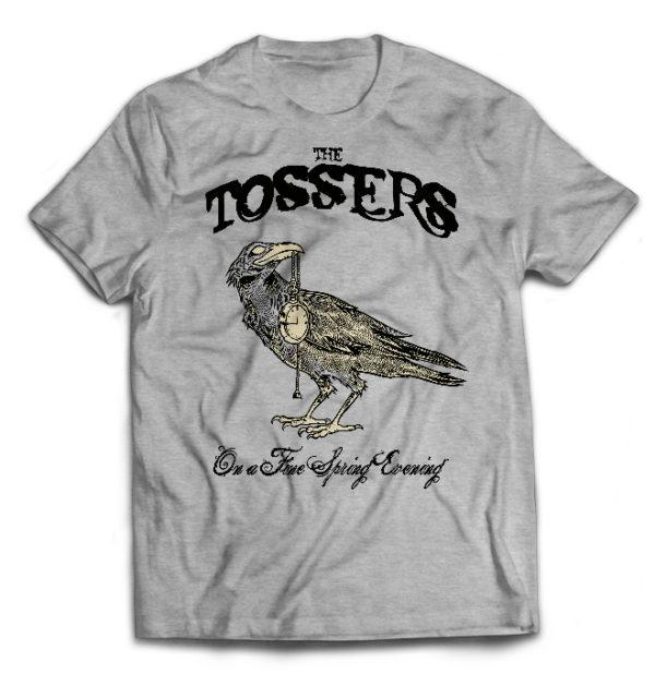 футболка серая Tossers