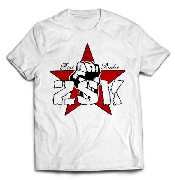 белая футболка ZSK