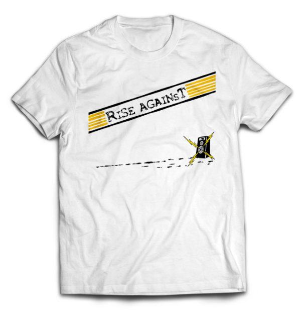 футболка белая Rise Against
