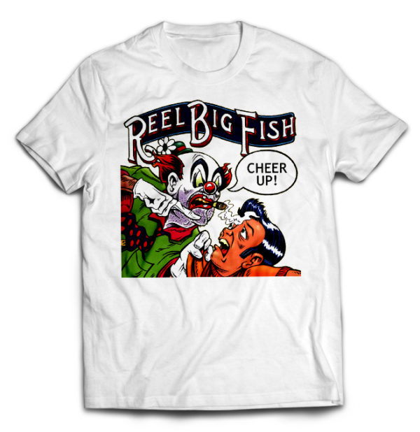 футболка белая Reel Big Fish