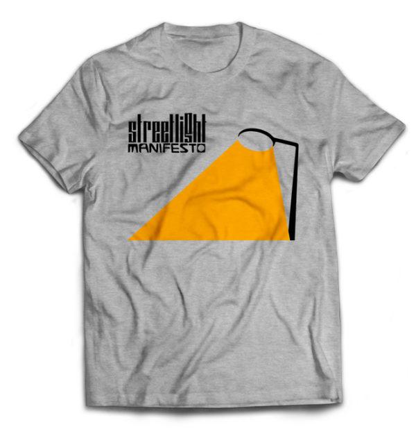 футболка серая Streetlight manifesto