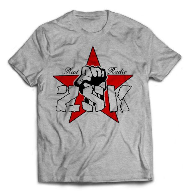 серая футболка ZSK