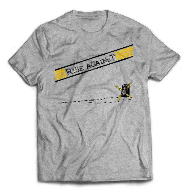 футболка серая Rise Against