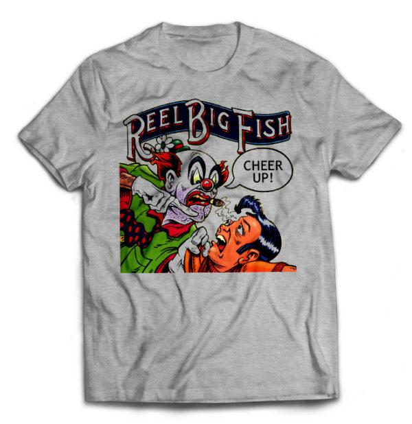 футболка серая Reel Big Fish
